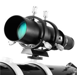 """Wholesale Angeleyes 50mm Guide Scope Fully Coated Guidescope Finder Eyepiece with Bracket 1.25"""" Telescope accessories"""