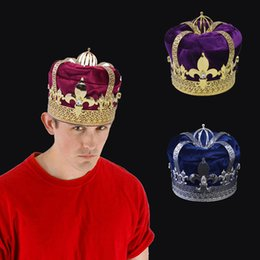 $enCountryForm.capitalKeyWord Canada - Crown Tiara Hat Cap King Queen Cosplay Hairwear Unisex Prince Princess Fashion Jewel Woman Men`s Crown Imperial State Colour C19022201