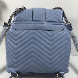 Multicolor shoulder bag online shopping - the latest style classic women hot sale PU pendant diamond lattice chains backpack multicolor