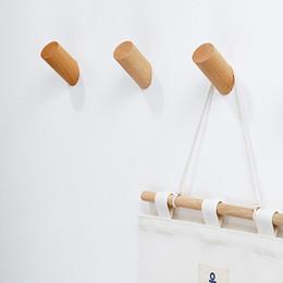 $enCountryForm.capitalKeyWord Australia - 1pc hook Natural Handbag Hat Scarf Hook Decorative Wood Clothes Hanger Wall Mounted Sundries Key Holder Bathroom Storage Rack