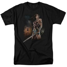 Green White Movie Logo UK - Wonder Woman Movie Fierce DC Comics Licensed Adult T Shirt Custom t shirt logo text photo Mens Womens T-shirt men tshirt rock Unisex t shirt