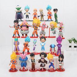 $enCountryForm.capitalKeyWord NZ - 6pcs set Anime Dragon ball Z son Goku Vegeta Piccolo DBZ Piccolo Gohan super saiyan zenoh PVC Action Figure Toys children gift Y190529