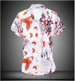 $enCountryForm.capitalKeyWord Australia - 4XL Plus Size Brand-clothing Cotton Mens Clothing Solid Soft Men Shirt short Sleeve Mens Shirts Casual Slim Fit Hot Sale