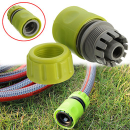 $enCountryForm.capitalKeyWord Australia - 10 pcs set Garden Quick Connectors Irrigation Hose Connect Couping Pipe Tap Garden Water Connectors Hose Pipe Fitting