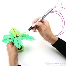 $enCountryForm.capitalKeyWord Australia - 3D creation OLED screen 3D printing pen can use USB bank charge 3D drawing pen gift for kids
