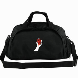 $enCountryForm.capitalKeyWord Australia - Green day duffel bag American Idiot tote Punk rock backpack Popular band luggage Sport shoulder duffle Emblem sling pack