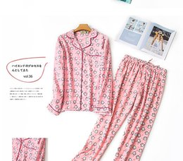 Turn service online shopping - YF617 female autumn cotton suit long sleeve increase plus fat pajamas loose flance large size home service