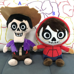 $enCountryForm.capitalKeyWord Australia - COCO Mig Cartoon Figures 15-20CM Coco Plush Dolls 2018 New Movie COCO Figure Soft Stuffed Cartoon Toys Action Figure Toys Kids Gift