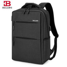 $enCountryForm.capitalKeyWord NZ - Steven Unisex Business Waterproof Laptop Backpack Men's Big Capacity Travel College Student Backpacks Shoulder Bag Easy Carrying