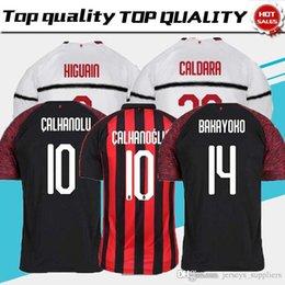 18 19 AC Milan HIGUAIN Soccer Jerseys home 2018 2019 SUSO ROMAGNOLI CUTRONE  KESSIE Milan away LOCATELLI CALHANOGLU football shirt 9c1281b7d