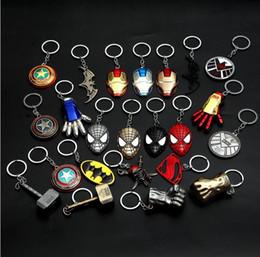 $enCountryForm.capitalKeyWord Australia - 50 pcs, Fashion Animation movie Hero equipment Alloy Pendant Key chains automobile Key Ring Iron Man Mask Animation cartoon Accessories gift