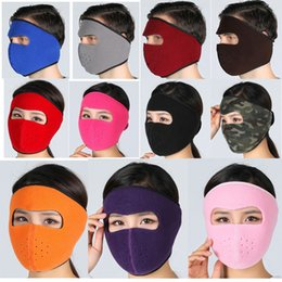 4ecf4389439ea Wholesale 13 colors Winter Outdoor Warm Windproof Face Mask Motorcycle  Bicycle Cycling Jogging Hunting Ski Sports Mask