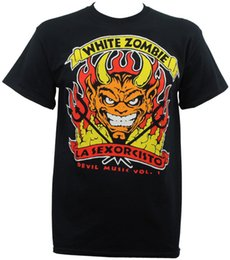 ab386e4ce86f9 Rock music clothing online shopping - Authentic WHITE ZOMBIE Band Devil s Music  Rock Metal T
