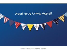 paper garland wholesale Australia - 2019 Wholesale- 1 set Party Bunting Banner Paper Pennant Flags Nautical Girl Boy Birthday Navy Blue Red Anchors Baby Nursery Decor Garland