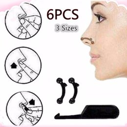 nose up clipper wholesale Australia - 3 Sizes Beauty Nose Up Lifting Bridge Shaper Massage Tool Nose Shaping Clip Clipper Women Girl Massager