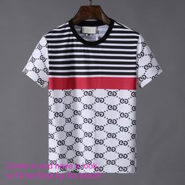 Low price cLothing online shopping - 19SS summer new product on the market high quality men s clothing T shirt stripe printing fashion challenge whole network lowest price high