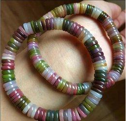 Disc Bracelet Australia - FREE SHIPPING + ++++1pc Colorful natural bracelets Yanyuan disc beads across the pearl beads Bracelets
