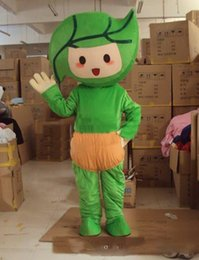 $enCountryForm.capitalKeyWord Australia - 2019 hot sale Green leaves baby Cartoon Character Costume mascot Custom Products custom-made free shipping new