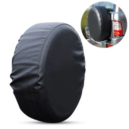 Wholesale Waterproof Spare Tire Cover Protector Universal Fit Tire Covers Wheel Diameter Suit for Jeep Trailer RV SUV Truck and Many Vehicle