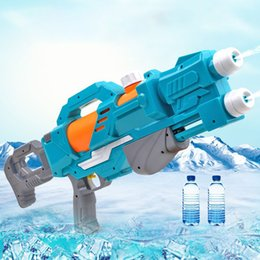 kids pistol guns NZ - Summer children's water gun pull-out beach play toys Pool Party toys for boys and girls Summer Pool Toys for Kid&Adult