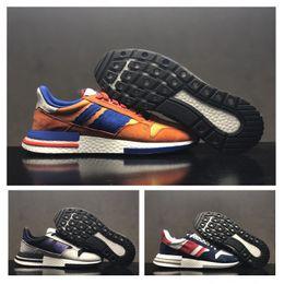 712cdc877887e Dragon Ball Shoes Australia - Dragon Ball Z x Originals ZX500 RM Mens  Running Shoes For