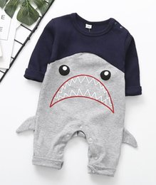 $enCountryForm.capitalKeyWord NZ - Retail Baby Rompers Baby boy girl Clothes kids Cartoon animal Printing Clothes Newborn Baby Clothes Long Sleeve Infant Jumpsuits