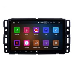 car touch screen stereo systems UK - Android 9.0 Car GPS Navigation System for GMC Yukon 2007-2011 Car Radio with 8 Inch HD Touchscreen Music Bluetooth WiFi