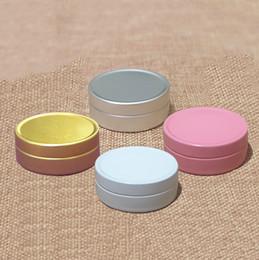 $enCountryForm.capitalKeyWord Australia - 150pcs Empty 10g Aluminium Jar Small Cosmetic Cream Spice Food Sample Packaging Bottles