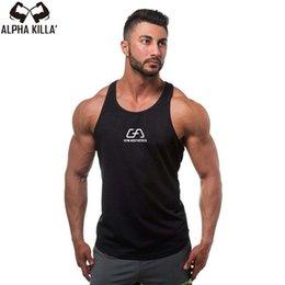$enCountryForm.capitalKeyWord Australia - 2017 Tank Tops Sleeveless Vest TOP Undershirt casual fitness Mens casual print Bodybuilding Red gray black #105465