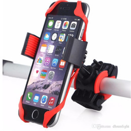 Wholesale Universal Bicycle Phone Holders Bike Cellphone Clip Car Bike Mount Flexible Phone Holder Extend Stand For GPS