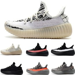 Boys hunting online shopping - Kanye Static Zebra Infant Kids running shoes Cream White BELUGA Children Sports shoes toddler trainers boy girl Child Bred sneakers
