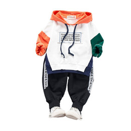 winter sets for toddlers NZ - 2019 Children Clothing Autumn Winter Toddler Boys Clothes Outfit Kids Clothes Girls Sport Suit For Girls Clothing Sets 1 2 3 4 Year