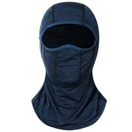 $enCountryForm.capitalKeyWord Australia - Ice Silk Sunscreen Hooded Mask Summer Outdoor Riding Multi-function Balaclava Face Mask Sun Protection Scarf For Cycling riding