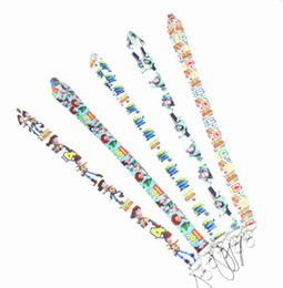 China Free Shipping New 50pcs Random mixing Design Toy Story 3 Cell Phone Charm Camera Keys ID Neck Lanyard Strap supplier camera neck straps wholesale suppliers