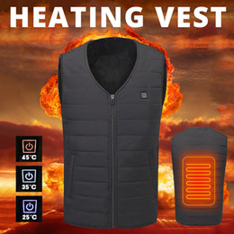 Usb Heating Pads Australia - 018 New Motorcycle Men Women USB Infrared Heating Vest Riding Jacket Moto Autumn Winter Electric Thermal Clothing 2018 New Motorcycle Ja...