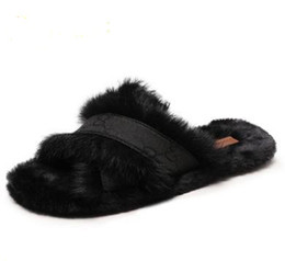 $enCountryForm.capitalKeyWord UK - Winter New fashion cotton slippers winter ladies plush warm slippers indoor suede flat slippers size 35-40
