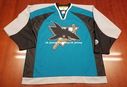 dd26a6290bf Cheap custom San Jose Sharks Vintage Koho Third Jersey Stitched Retro  Hockey Jersey Customize any name number XS-5XL