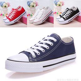 $enCountryForm.capitalKeyWord Australia - 5 Colors Women Canvas Shoes Spring Fashion Skater Shoes Ins Trainers Korea Ulzzang Casual Board Shoes Teenager Summer Plimsolls