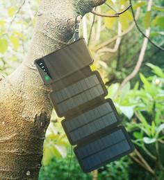 $enCountryForm.capitalKeyWord Australia - 8W Portable Solar Charger for Mobile Phone 4W 6W Iphone Folding Solar Panel Foldable Solar USB Battery Charger 10000mah Phone Power Bank