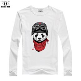$enCountryForm.capitalKeyWord Australia - Children Cartoon Panda Print T-shirt Boy Girls Winter Long Sleeve Tee Tops Costume For Kids Clothing Baby 100% Cotton T