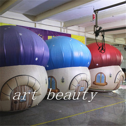 $enCountryForm.capitalKeyWord Australia - Attractive new inflatable mushroom house giant inflatable mushroom for Wedding Party decoration