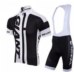 Giant xl bike online shopping - GIANT team short sleeve cycling jersey bib shorts Outdoor sports cycling jersey bib shorts sets Biking Clothes Running Shirt bike wear