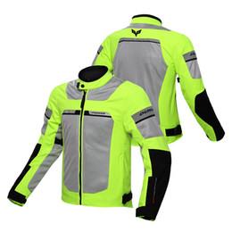 $enCountryForm.capitalKeyWord Australia - DUHAN Motorcycle Jacket Men Breathable Motorbike Jacket Protective Gear Waterproof Moto Motorcycle Clothing for Summer