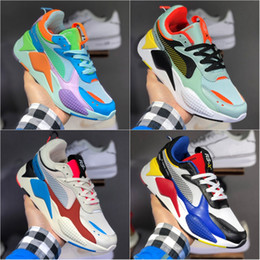 Red bRand toys online shopping - Mens Running Shoes New Brand RS X RS Reinvention Toys Hasbro Transformers Casual Womens rs x Designer dad Sneakers shoes Size