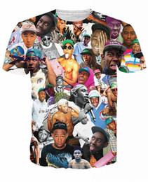 3d men t shirts rihanna online shopping - Newest Rihanna TRUST NO BITCH Chris Brown Miley Cyrus Tyler The Creator T Shirt D Printed Women Men Short Sleeve Unisex Casual K550