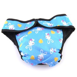 underwear dogs Canada - Simple Cute Pet Dog Puppy Diaper Pants Physiological Sanitary Outdoor Panty Underwear Suitable For All Season
