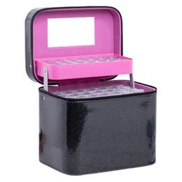 $enCountryForm.capitalKeyWord Australia - 126-Pack Portable Suitcase Essential Oil Bottle Storage Bag Manicure Fragile Bottle Cosmetic Organizer