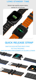 Touch Screen Water Resistant Australia - A6 Wristband Smart Watch Touch Screen Water Resistant Smartwatch Phone with Heart Rate Smart Bracelet Monitor Sport Running