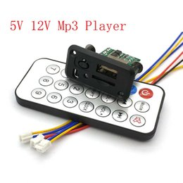 $enCountryForm.capitalKeyWord Australia - Mini 5V MP3 Decoder Board 3W*2 Decoding Module MP3 WAV U disk TF Card USB Amplifier Speaker Audio Board With Remote Control Wire