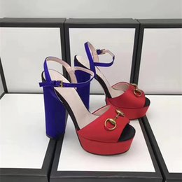 $enCountryForm.capitalKeyWord Australia - Women's Shoes Summer New Products 2019 European and American Fashion Super High-heel Waterproof Table Sexy Banquet Painted Sandals